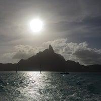 Photo taken at Le Méridien Bora Bora by Blake E. on 11/24/2015