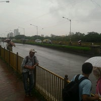 Photo taken at Wadala Bridge Jam by Saahil A. on 7/11/2013