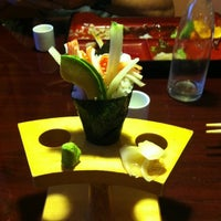 Photo taken at Sushi Rock by Claudia L. on 7/8/2013