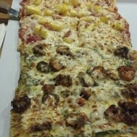 Photo taken at Green Zone Pizza by Andrea F. on 12/16/2012