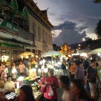 Photo taken at Chiangmai Walking Street by A Mic on 10/21/2012