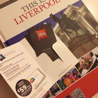 Photo taken at Ibis Hotel Liverpool Centre by Adam R. on 10/18/2013