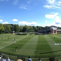 Photo taken at DeMartin Field by Aaron B. on 9/14/2014