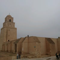 Photo taken at جامع عقبة بن نافع | La Grande Mosquée | Great Mosque of Kairouan by Tolga A. on 11/18/2016