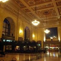 Photo taken at Union Station Kansas City, Inc. by Kyle P. on 2/20/2013