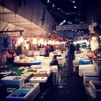 Photo taken at Tsukiji Market by D S. on 10/18/2012