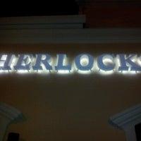 Photo taken at Sherlock's Baker St. Pub by Amy R. on 4/23/2013