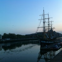 Photo taken at The River Liffey by Loretta P. on 7/12/2013