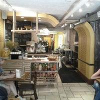 Photo taken at Hummus Place by Akshay P. on 9/14/2012