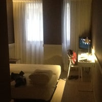 Photo taken at Hotel Paral·lel by Aleksander Y. on 8/28/2013