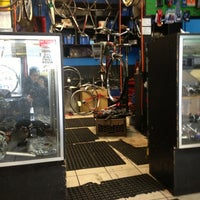 Photo taken at Bicycle Station by Mike F. on 2/10/2013