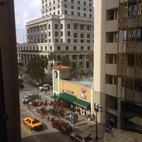 Photo taken at Courthouse Plaza by Madelin D. on 1/14/2014