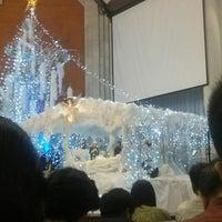 Photo taken at Gereja Katolik Redemptor Mundi by Vincent J. on 12/24/2013