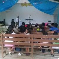 Photo taken at Iglesia Cristiana Príncipe De Paz by David M. on 11/3/2013
