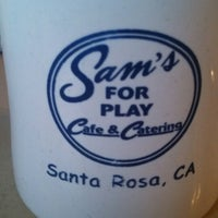 Photo taken at Sam's For Play Cafe & Catering by Lori N. on 7/14/2013
