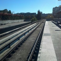 Photo taken at Pleasant Hill/Contra Costa Centre BART Station by Pamela K. on 10/16/2012