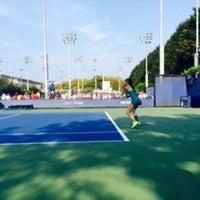 Photo taken at Court 13 - USTA Billie Jean King National Tennis Center by Fm D. on 9/2/2015