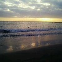 Photo taken at Playa de Torviscas by Lupe on 8/25/2013
