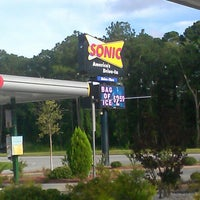 Photo taken at SONIC Drive In by john c. on 7/14/2013