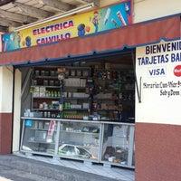 Photo taken at Eléctrica Calvillo by Mario C. on 7/28/2013