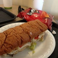Photo taken at Goodcents Deli Fresh Subs by Chris S. on 7/1/2013