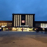 Photo taken at Duisburg Hauptbahnhof by Ingo S. on 11/22/2013