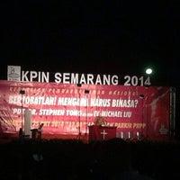 Photo taken at PRPP Jawa Tengah (Jateng Fair) by Whiite C. on 10/25/2014