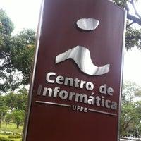 Photo taken at CIn - Centro de Informática da UFPE by Leonardo M. on 11/15/2012