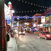 Photo taken at Greektown Historic District by Mike L. on 1/23/2016
