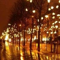 Photo taken at Avenue Montaigne by Vanessa P. on 12/22/2012