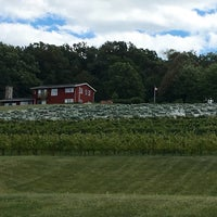 Photo taken at Clover Hill Winery by Tracey W. on 9/11/2016