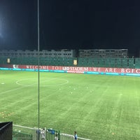 Photo taken at Leo Stadium by Foury P. on 6/22/2016