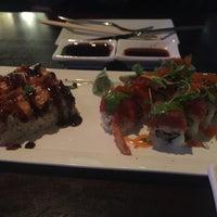 Photo taken at Okura Robata Sushi Bar and Grill by lilyy on 1/30/2016