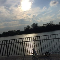 Photo taken at Jewel Bridge by Ashley I. on 8/3/2014
