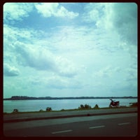 Photo taken at Pantai Lido by Fakhry B. on 1/8/2013