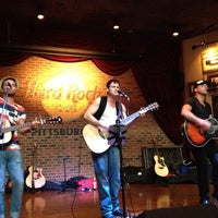 Photo taken at Hard Rock Cafe Pittsburgh by Bernard M. on 7/19/2013