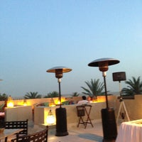 Photo taken at Rooftop Bar Bab Al Shams by Amitabh D. on 3/15/2013