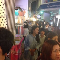 Photo taken at Siam Square Night Market by Dounat K. on 10/2/2013