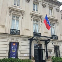 Photo taken at Embassy of Haiti by Armie on 5/7/2016