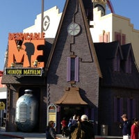 Photo taken at Despicable Me: Minion Mayhem by Marcos M. on 11/24/2012