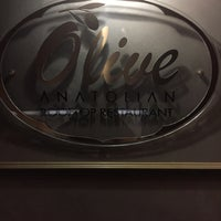 Photo taken at Olive Anatolian Restaurant by Onur D. on 11/30/2016