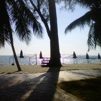 Photo taken at Pantai Teluk Kemang by Mohd Noor M. on 4/12/2013