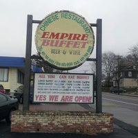 Photo taken at Empire Buffet by Ryan S. on 1/13/2013