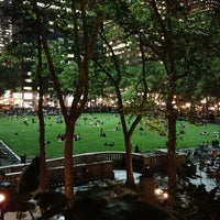 Photo taken at Bryant Park Grill by Rebecca B. on 5/22/2013