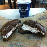 Photo taken at Murray's Bagels by Aeni K. on 10/3/2012