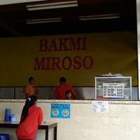 Photo taken at Bakmi Miroso by Wahyu Bagas J. on 6/5/2013