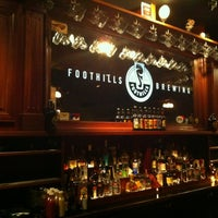 Photo taken at Foothills Brewing by m b. on 4/28/2013