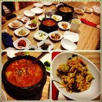 Photo taken at Da Sa Rang Korea BBQ Restaurant by Chloe Y. on 10/12/2012