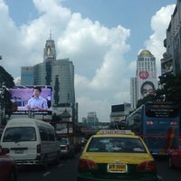Photo taken at Ratchaprasong Intersection by Paulina Y. on 10/21/2012