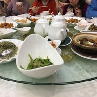 Photo taken at Kung Tak Lam Shanghai Vegetarian Cuisine 功德林上海素食 by Erica C. on 1/10/2016